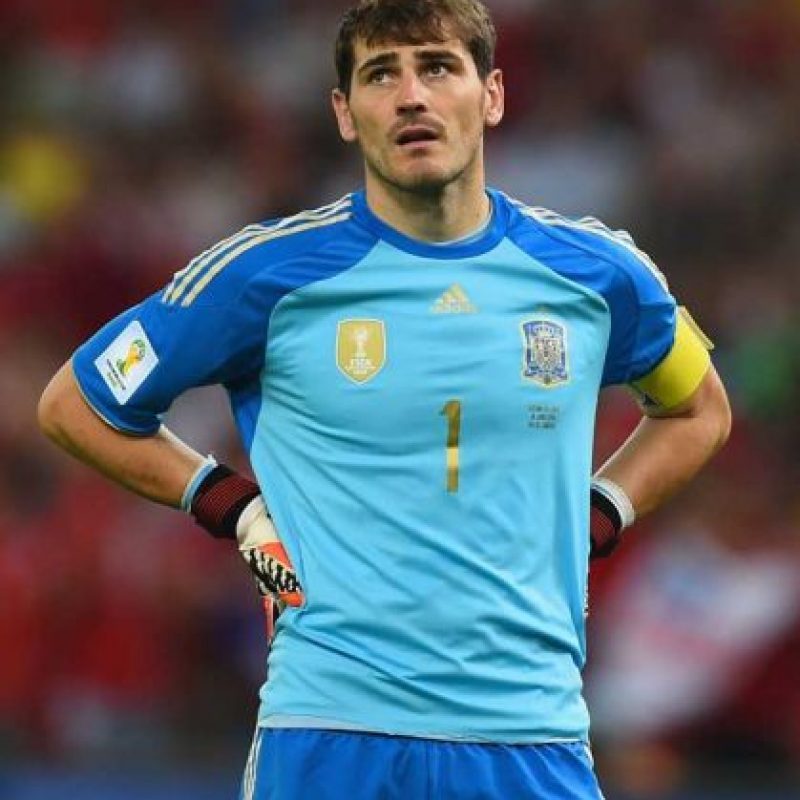 PORTERO: Iker Casillas Foto: Getty Images