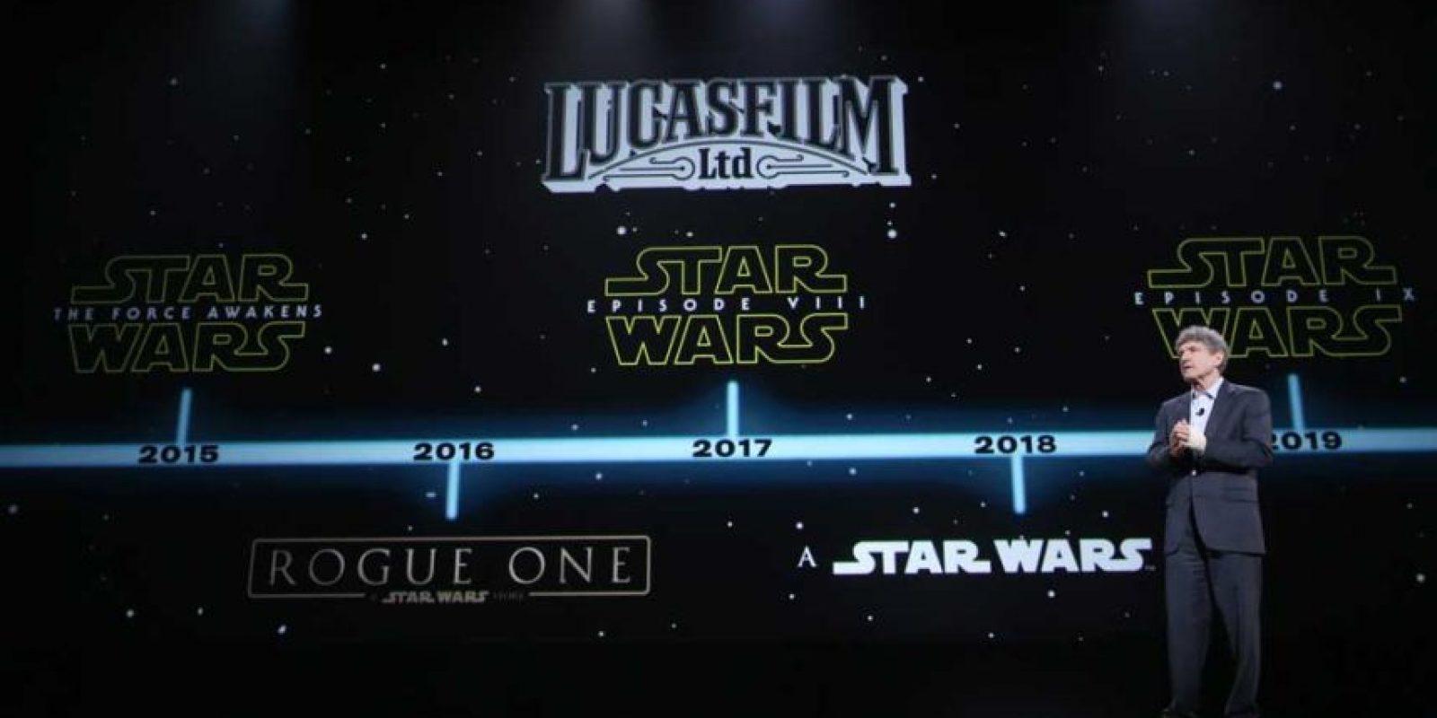 """Episodio VIII será la segunda película de la tercera trilogía de """"Star Wars"""" Foto:Getty Images"""