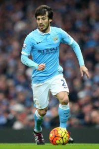 "David Silva: ""Burka por un amor"" de Reyes Monforte. Foto: Getty Images"