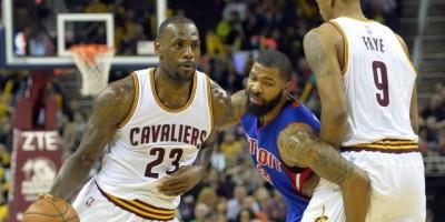 Los Cavaliers se imponen a los Pistons y colocan la serie 3-0