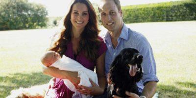 Foto: Así recibió el príncipe George a Obama en Inglaterra