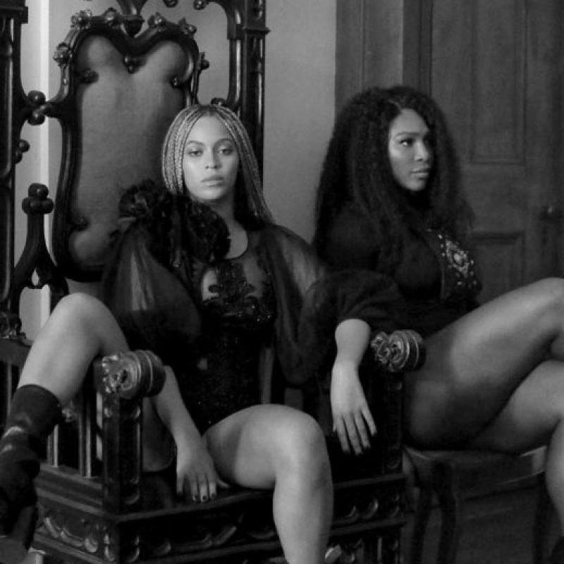 """Así luce Serena Williams en el nuevo video de Beyoncé, """"Limmonade"""". Foto:Vía instagram.com/serenawilliams"""