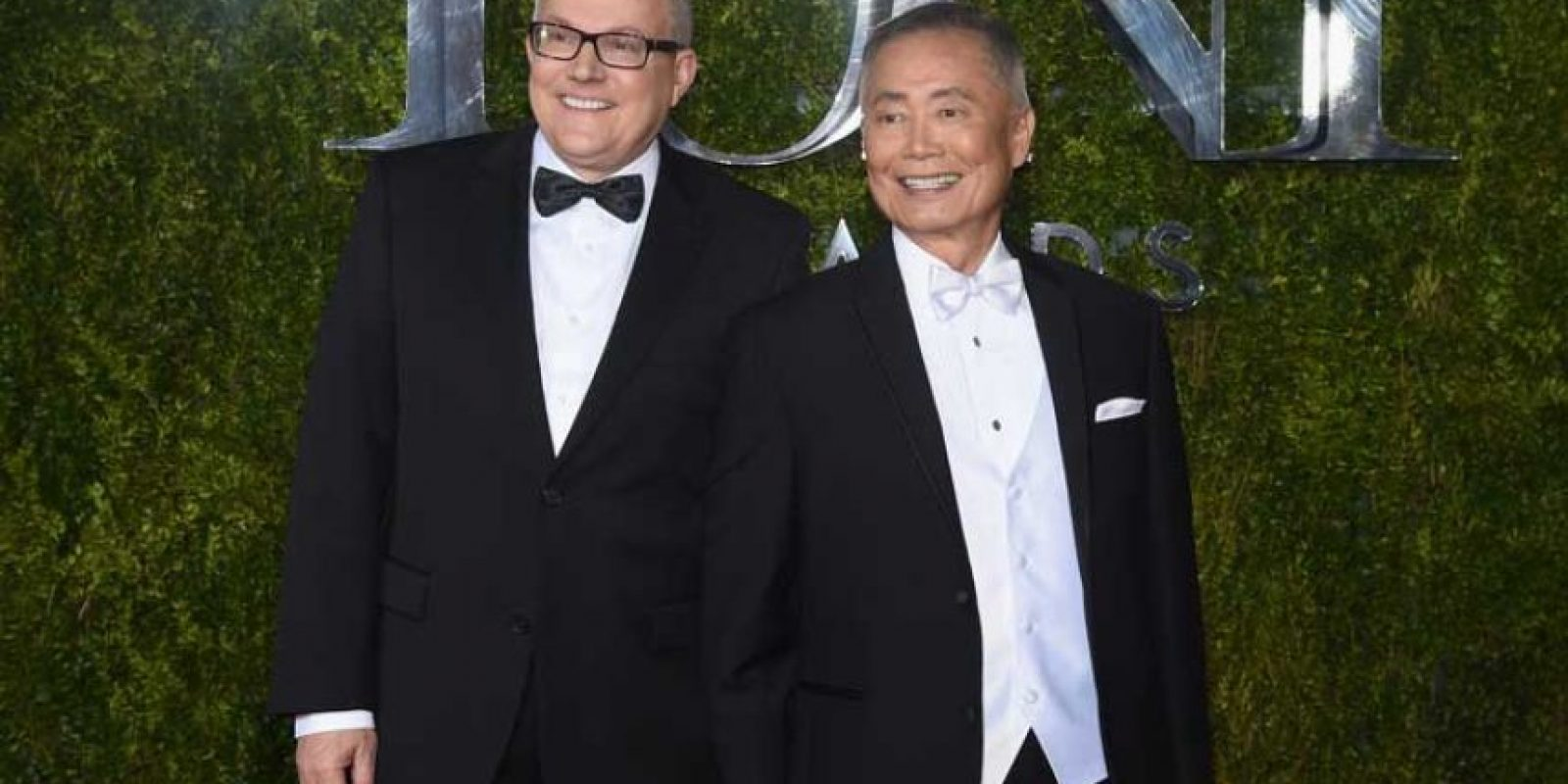 George Takei y Brad Altman Foto:Getty Images