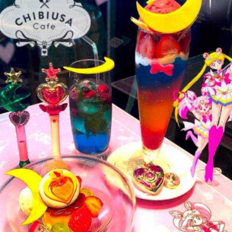 """Y lleva el nombre de """"Chibiusa"""", también conocida como """"Sailor Chibi Moon"""", hija de """"Serena"""", la protagonista. En Latinoamérica se le conoce como """"Rini"""". Foto:Vía instagram.com/explore/tags/chibiusacafe"""
