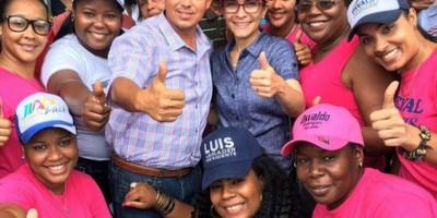 Mejía se compromete en La Victoria a trabajar por bienestar del municipio