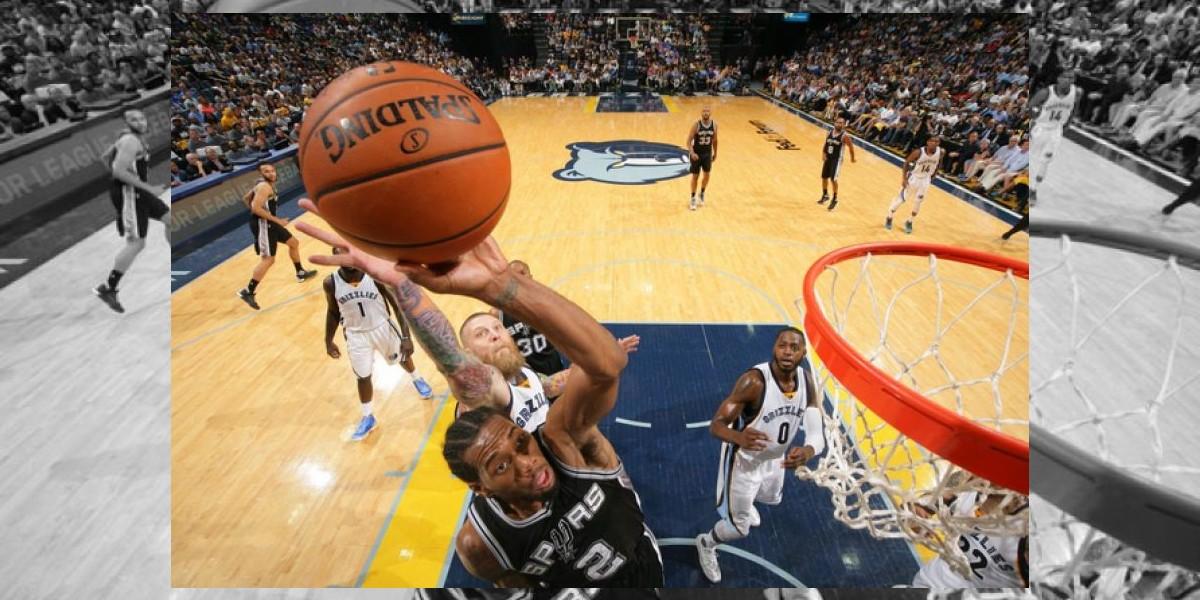 Los Spurs avanzan a segunda en los Playoffs de la NBA