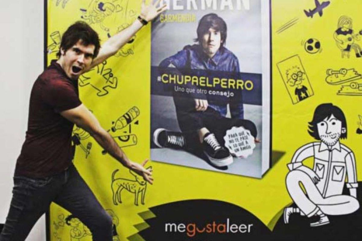 """El youtuber lo describe como una combinación entre """"libro y revista"""". Foto:vía instagram.com/germanchelo"""