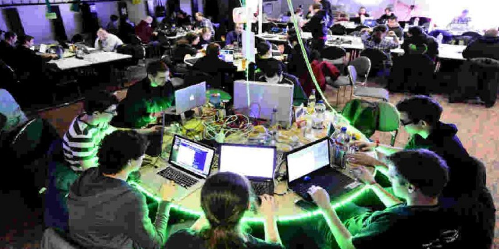 Anonymous nació en la página 4chan en 2003. Foto:Getty Images
