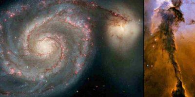 Hubble ha recibido diversas visitas de astronautas para repararlo. Foto:Getty Images