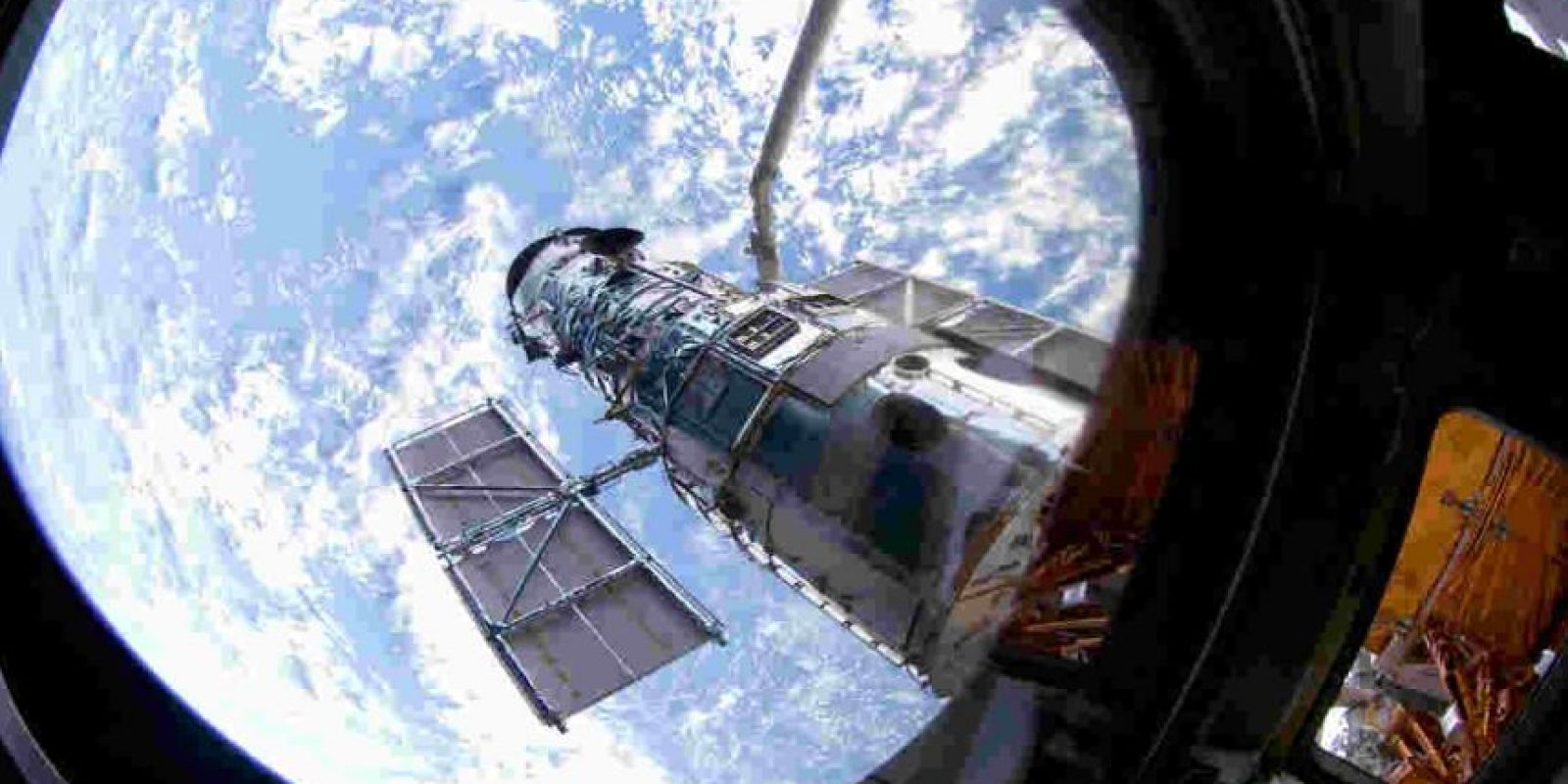 Fue puesto en órbita el 24 de abril de 1990. Foto:Getty Images