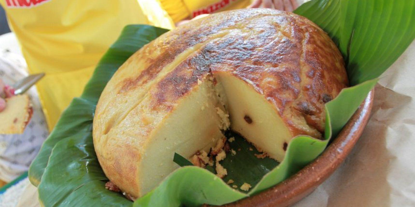 1- Arepa. Aunque su preparación es laboriosa, esta torta dominicana es exquisita para desayunar con un vaso de chocolate o de leche caliente. En el Este, es más famosa preparada con sal. Foto:Fuente externa