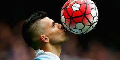 Sergio Agüero, referente del Manchester City Foto:Getty Images