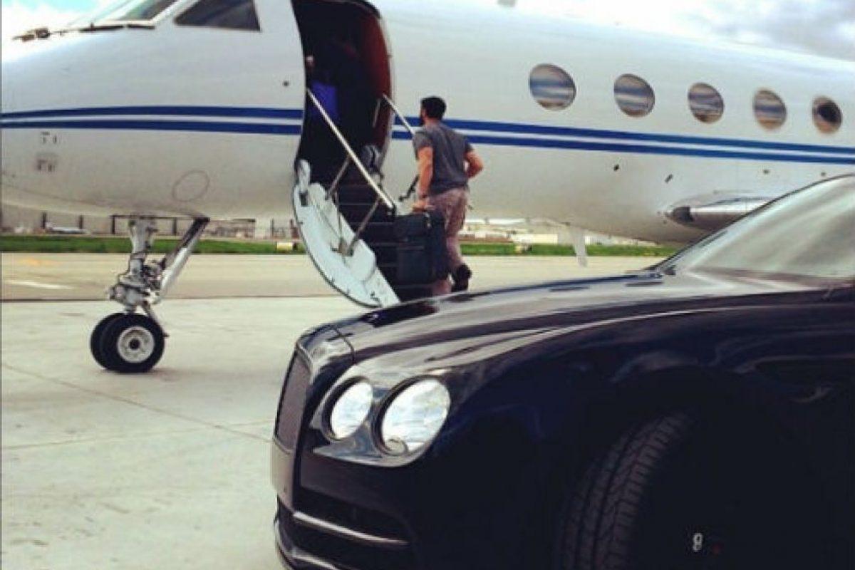 Dan Bilzerian compró el avión hace dos años. Foto:instagram.com/danbilzerian/