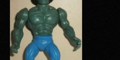 Hulk, más feo de lo que es. Foto:vía Tumblr/ Bootleg Action Figures