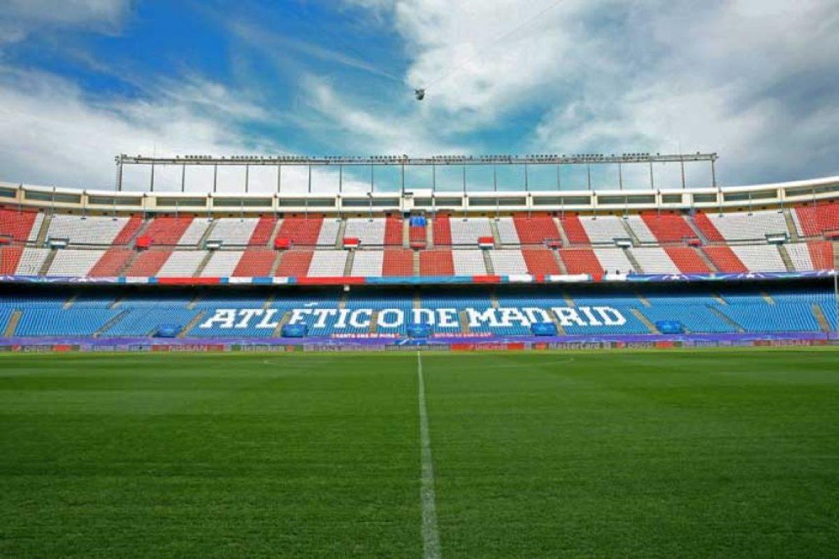 El Estadio Vicente Calderón será la sede del primer duelo entre Atlético de Madrid y Bayern Munich, por semifinales de Champions League. Foto:Getty Images