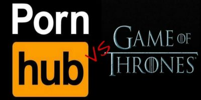 "PornHub fue derrotado por la serie ""Game of Thrones"""