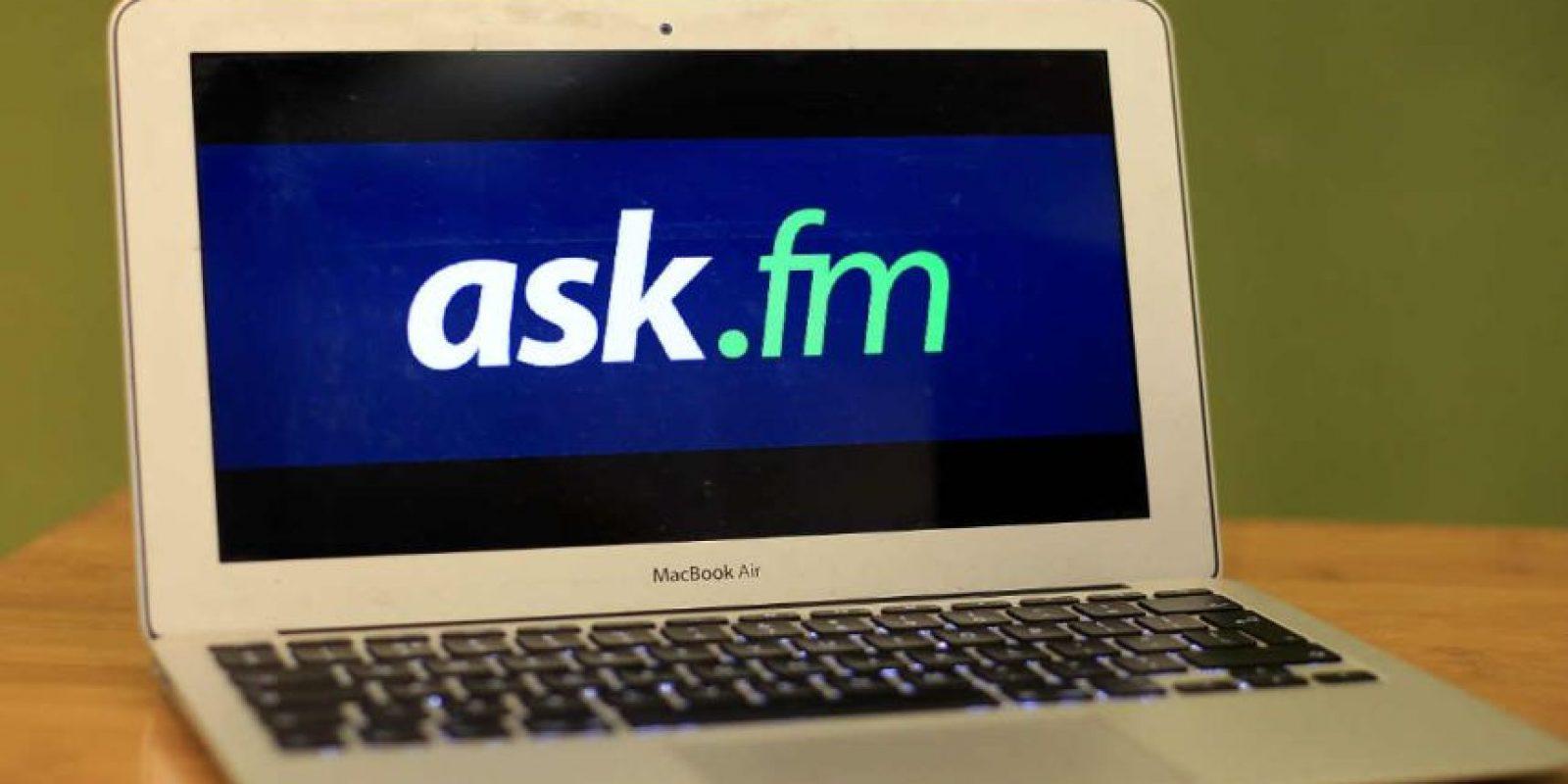 Ask.fm es, por excelencia, la red número uno de Bullying. Foto:Getty Images