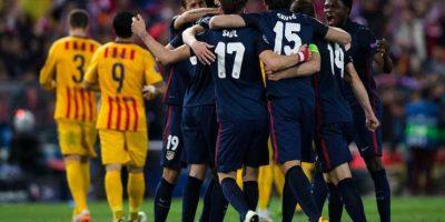 Atlético de Madrid llegó a semifinales tras vencer al Barcelona en cuartos de final. Foto:Getty Images