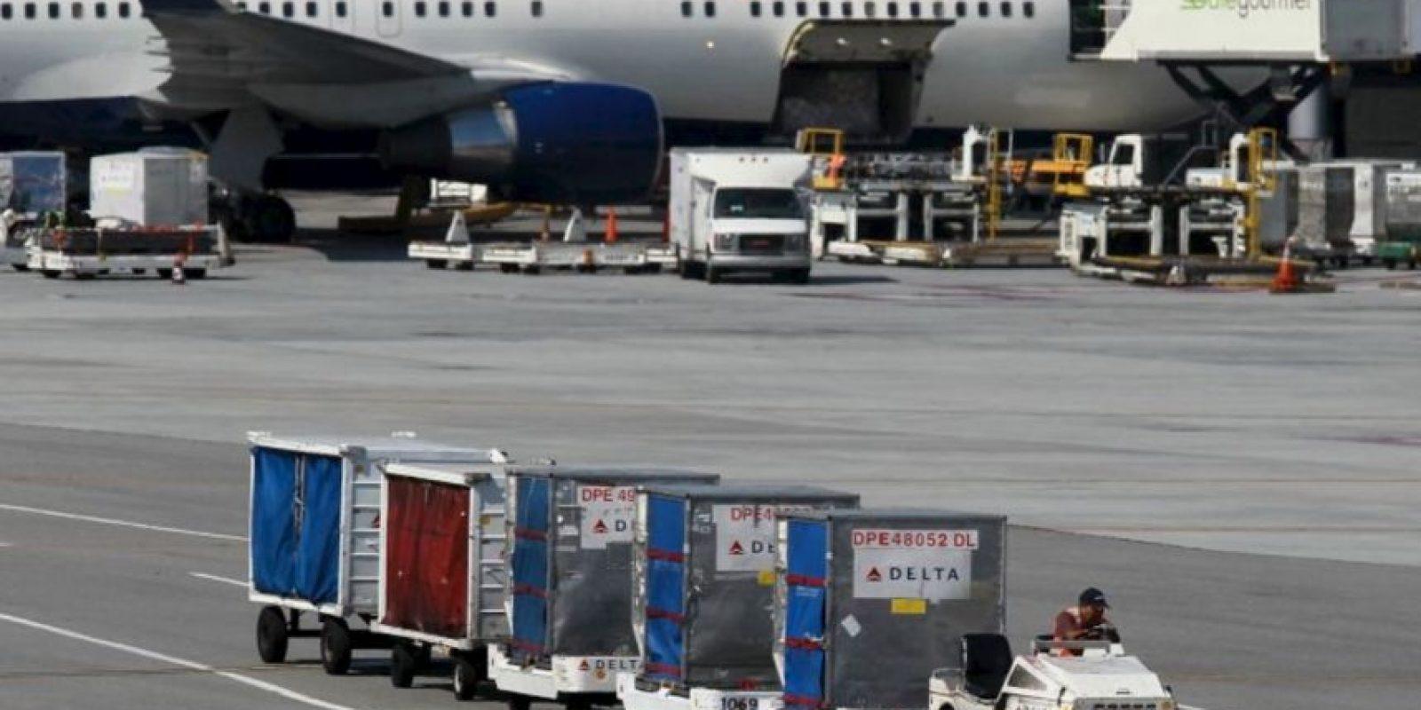 1. En mayo de 2015, la aerolínea Delta compró pizza a sus pasajeros por el retraso de uno de sus vuelos Foto:Getty Images