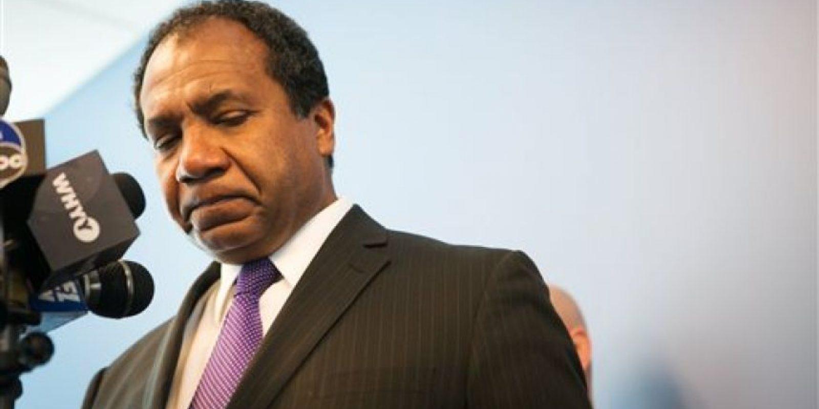 """El alcalde de Delaware, Dennis William, dijo: """"Mi corazón sangra por la familia"""", cuando anunció públicamente la muerte de la joven. Foto:AP"""
