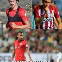 Arturo Vidal tuvo chispazos Foto:memedeportes.com