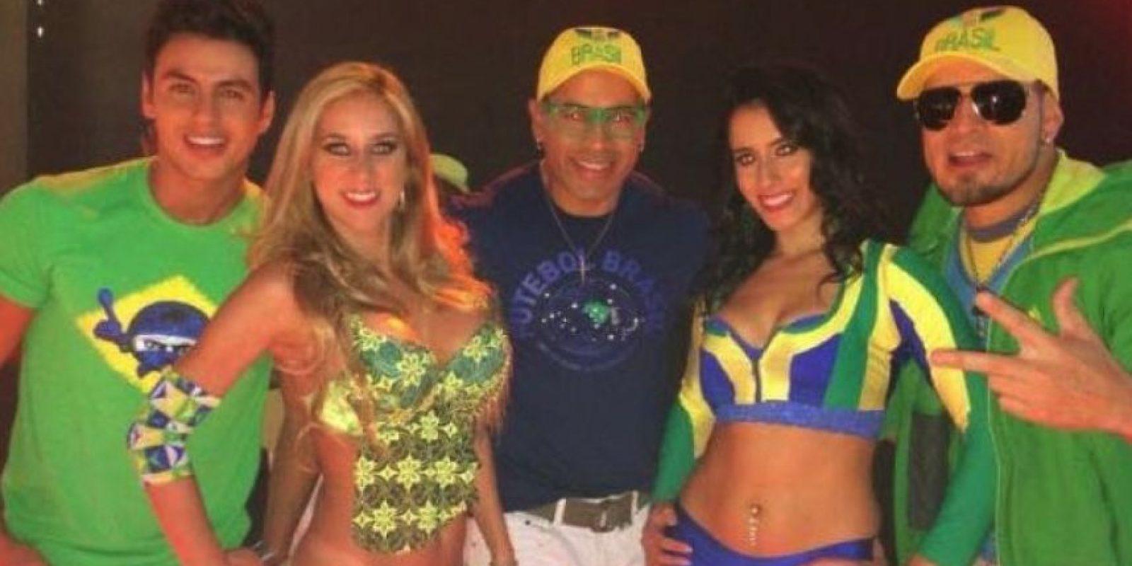 """Alcanzaron fama internacional con el éxito """"Beijo na Boca"""" (Beso en la boca) Foto:Vía Facebook.com/AxeBahiaOficial"""