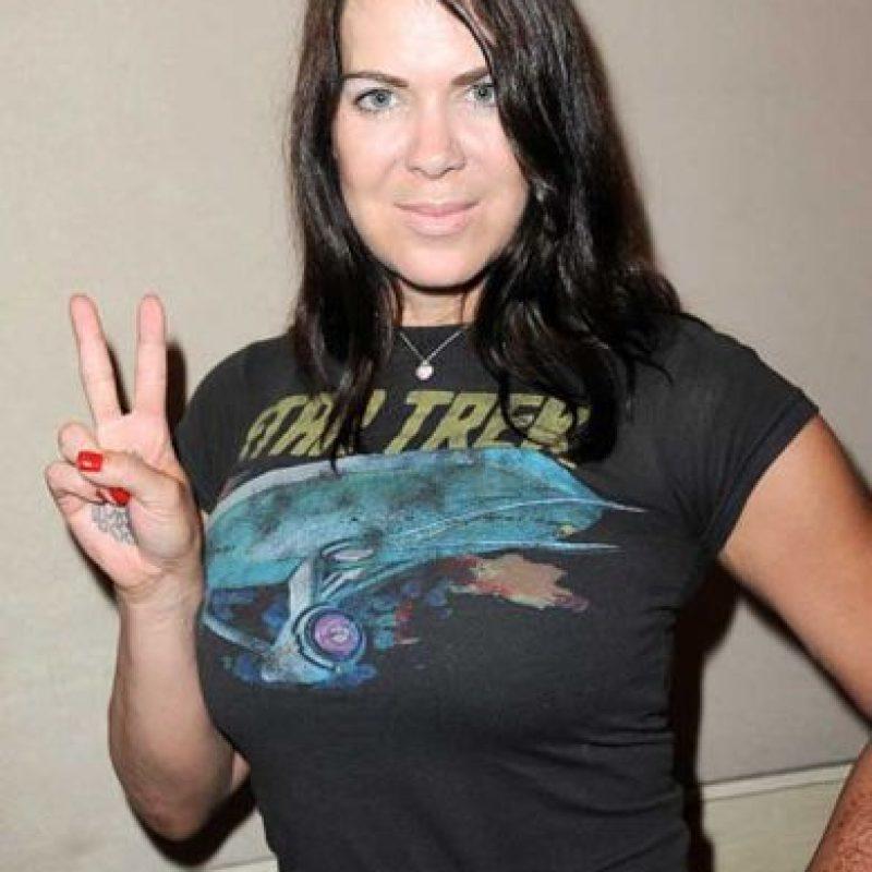 Ganó el cinturón del Campeonato Femenino de la compañía y también obtuvo el Campeonato Intercontinental, siendo la primera y única mujer en hacerlo. Foto:WWE