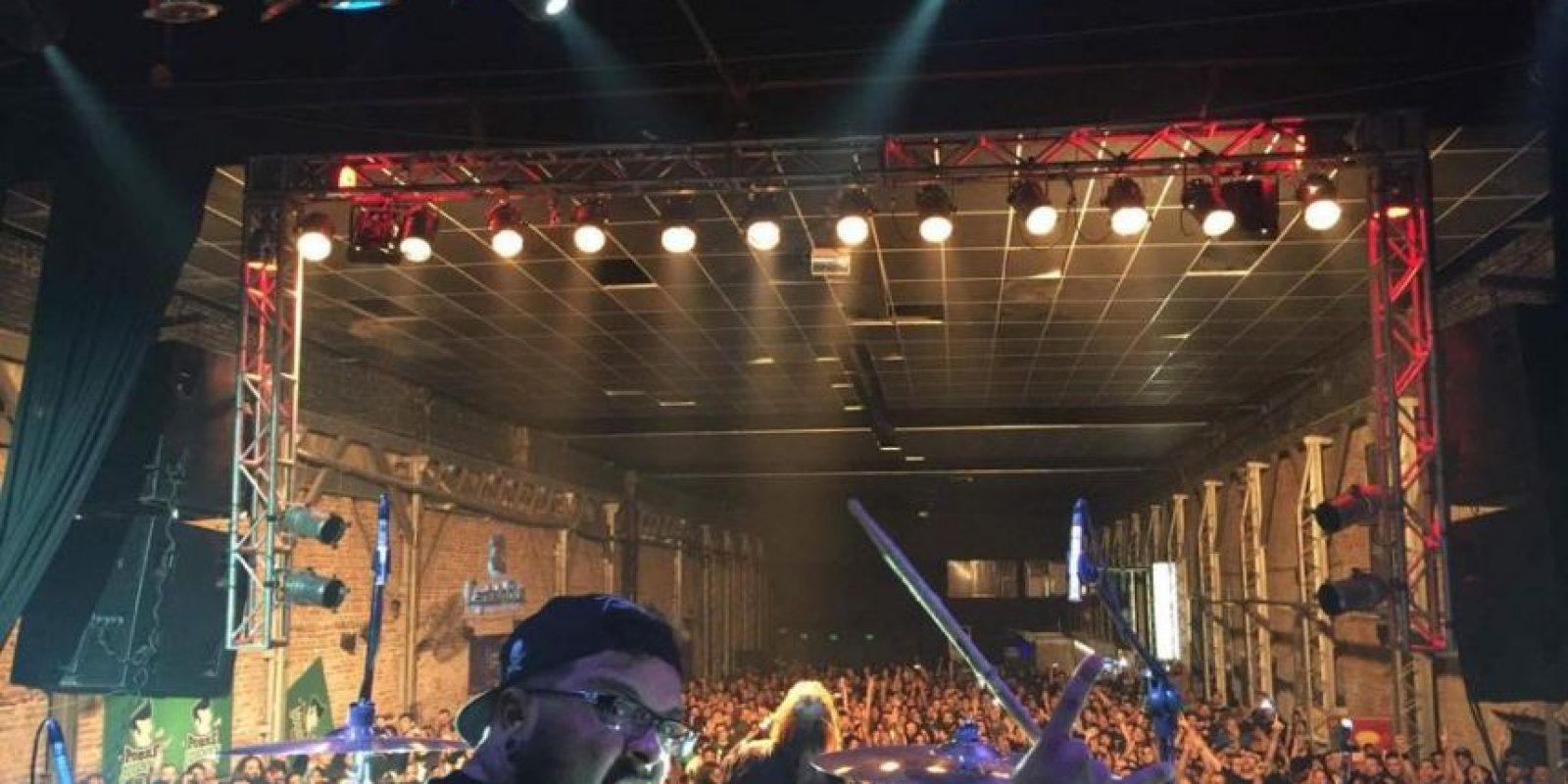 Concierto de Soulfly en Brasil Foto:Fuente externa