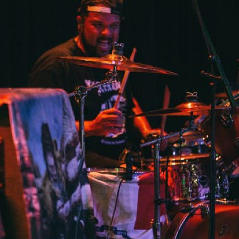 Kanky siempre con la bandera dominicana en todas sus presentaciones Foto:Edgar Núñez