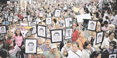 Ayotzinapa marcha por los 43
