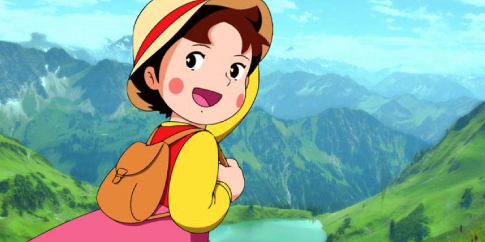 Constó de 52 episodios y se basó en el libro homónimo de Johanna Spyri. Foto:vía Fuji TV