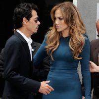 El matrimonio de Jennifer Lopez y Marc Anthony también parecía bien avenido. Foto:vía Getty Images
