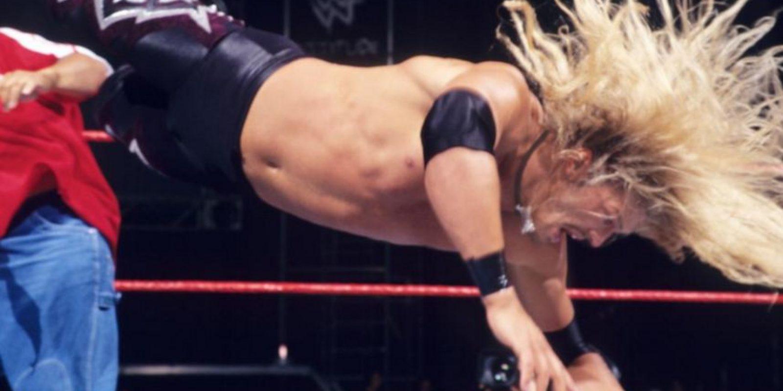 Edge en su primer pelea en 1998 Foto:WWE