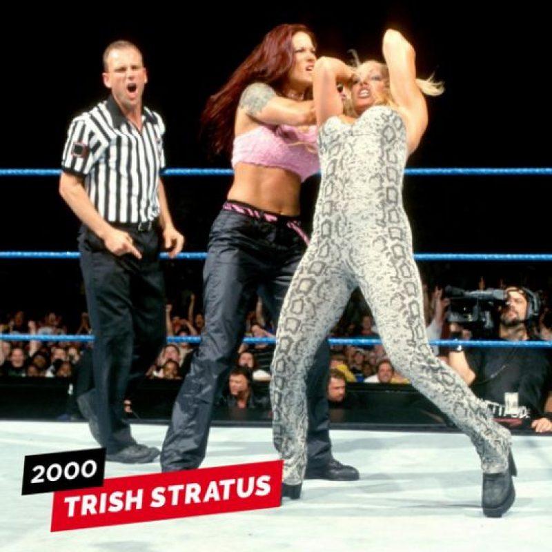 rRish Stratus en su debut en 2000 Foto:WWE
