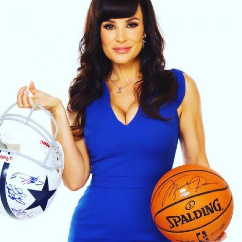 Es una gran fanática de los deportes como el fútbol americano y el baloncesto Foto:Vía instagram.com/thereallisaann