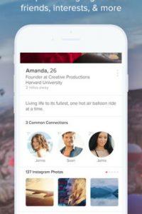 Algunos otros lo ocupan para engañar a sus parejas. Foto:App Store