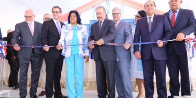 Presidente Medina inaugura elevado y otras obras en Autopista Las Américas