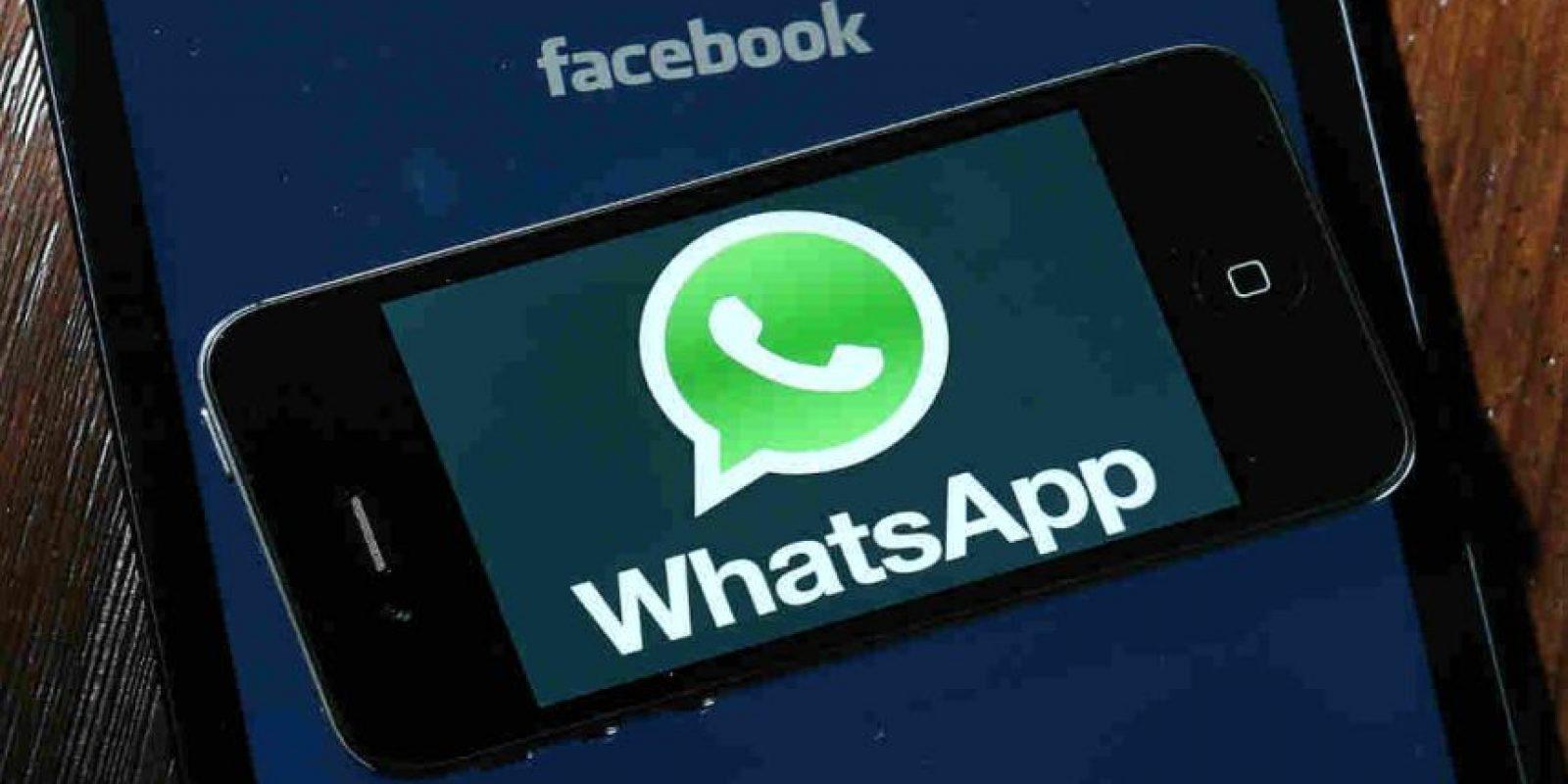 Facebook compró WhatsApp por 21,800 millones de dólares. Foto:Getty Images