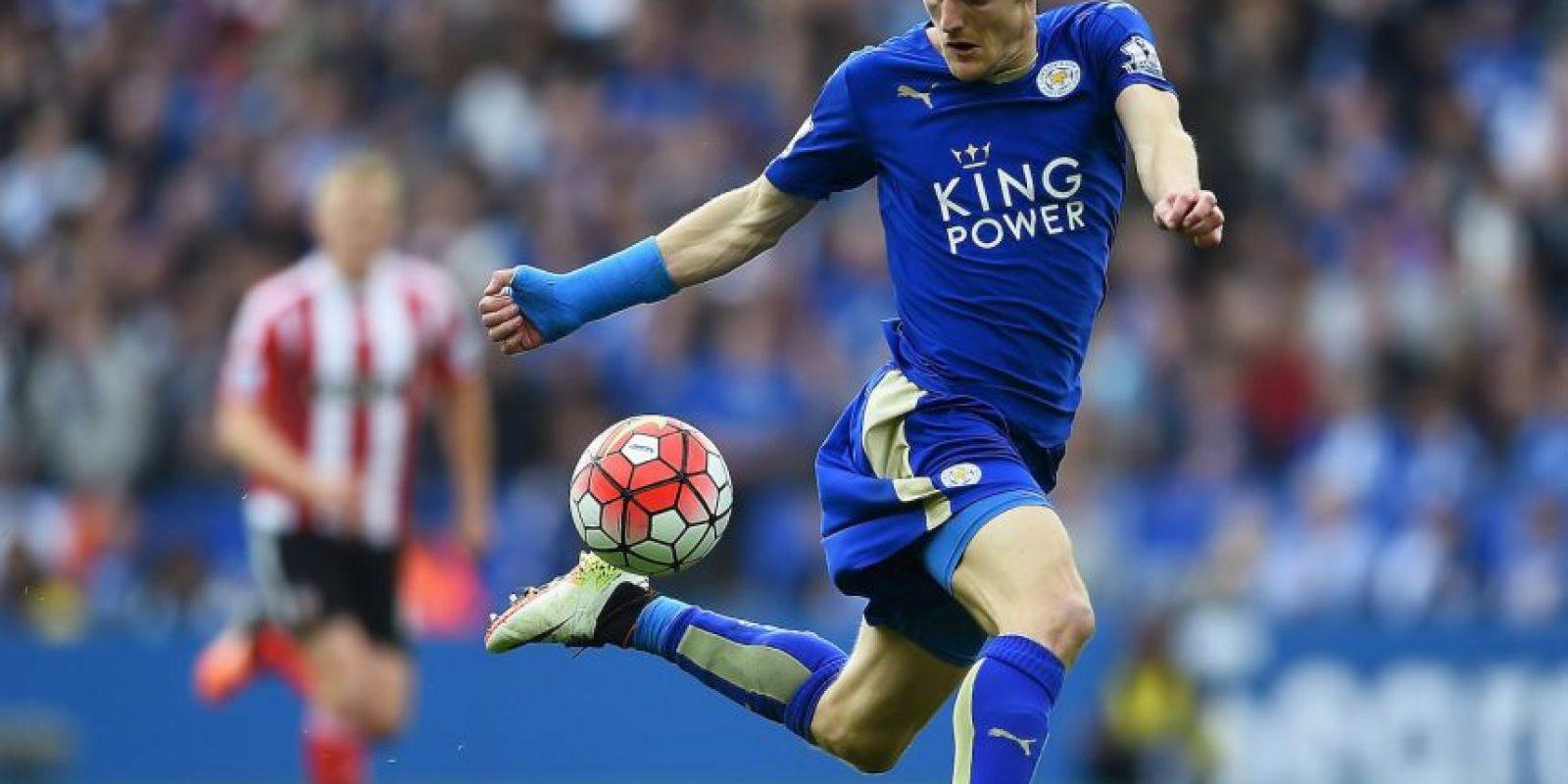 Jamie Vardy es su referente y máximo goleador con 22 dianas Foto:Getty Images