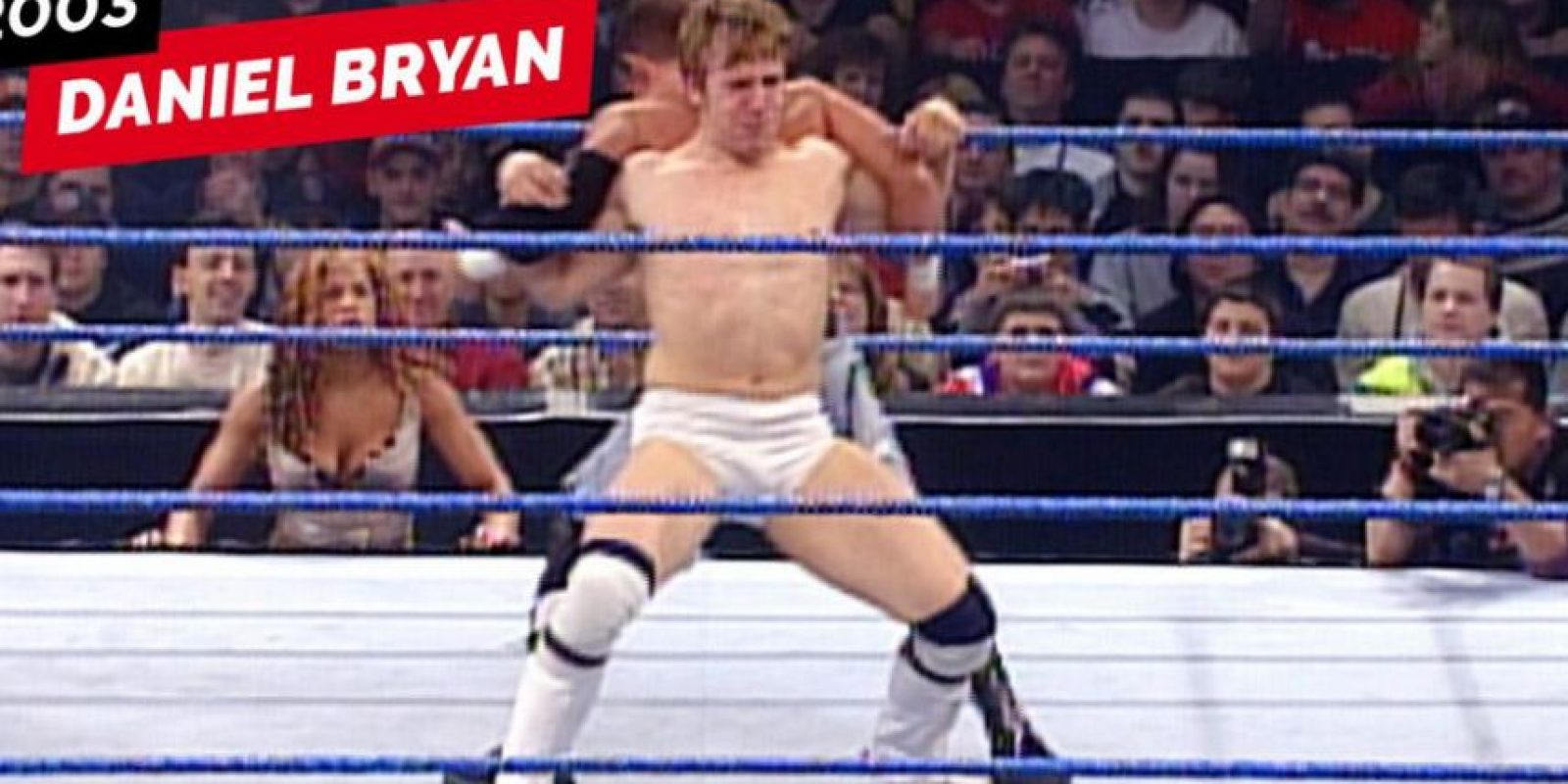 Daniel Bryan en 2003 Foto:WWE