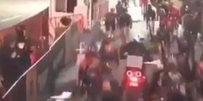 Caída masiva obliga a suspender carrera ciclista en Brooklyn