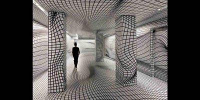 La habitación de las ilusiones ópticas. Foto:Tumblr