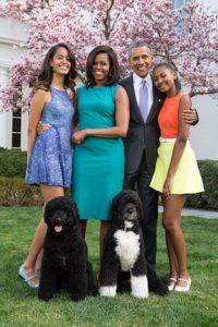 Así ha crecido Malia Obama durante la presidencia de su padre Foto:Getty Images