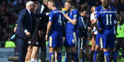 Las celebraciones del Leicester Foto:v