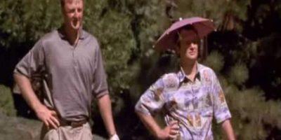 Larry Bird tuvo una breve aparición en el filme Foto:Twitter