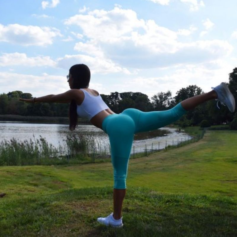 La famosa modelo fitness estadounidense Foto:Vía instagram.com/jenselter