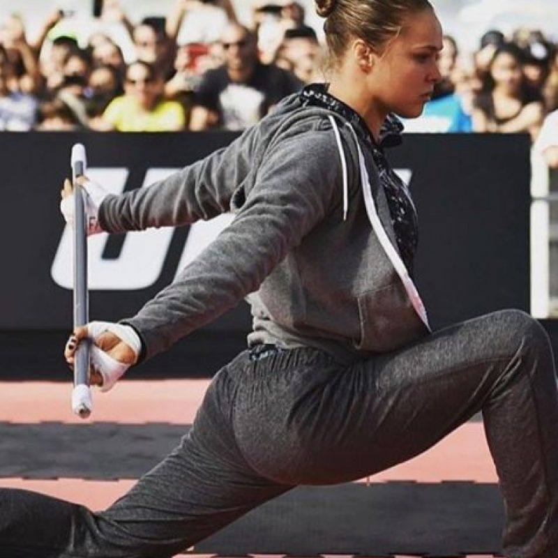 Ya entrena para recuperar el título que perdió con Holly Holm Foto:Vía instagram.com/rondarousey