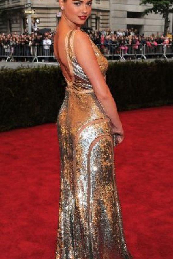 Kate Upton, diosa dorada. Foto:vía Getty Images