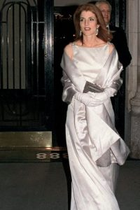 Caroline Kennedy. Aristócrata y elegante. Foto: vía Getty Images