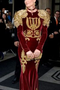 Tabitha Simmons, como Michael Jackson. Foto:vía Getty Images